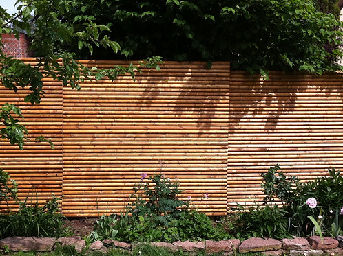 Brune granrafter - linoliebehandlet