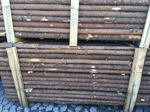 Granrafter med bark