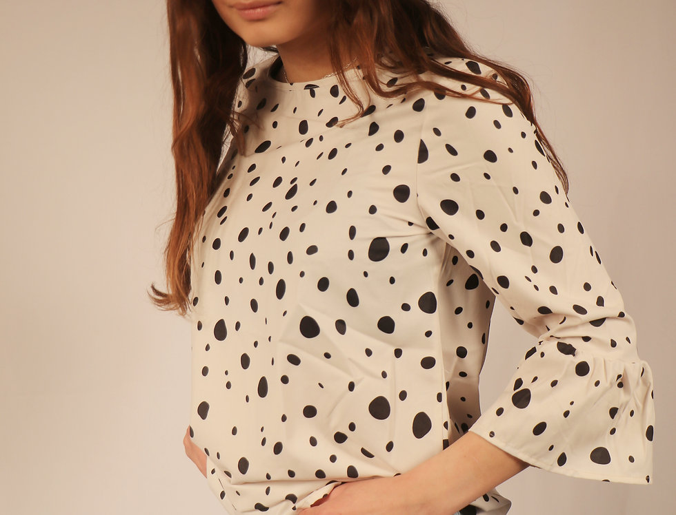 Summerlin Dotted Top