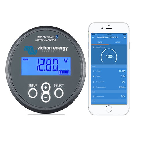Victron BMV-712 Battery Monitor with Bluetooth Built-in