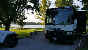 Cedar Creek Campground - A few Lessons Learned