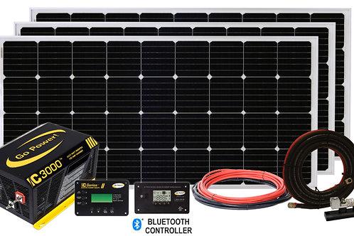 Solar Extreme 570 Watt Solar& IC-3000W/125A 50 ATS System