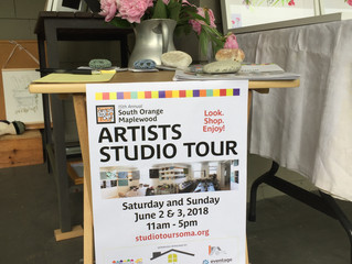 Today's the day! Artists Studio Tour