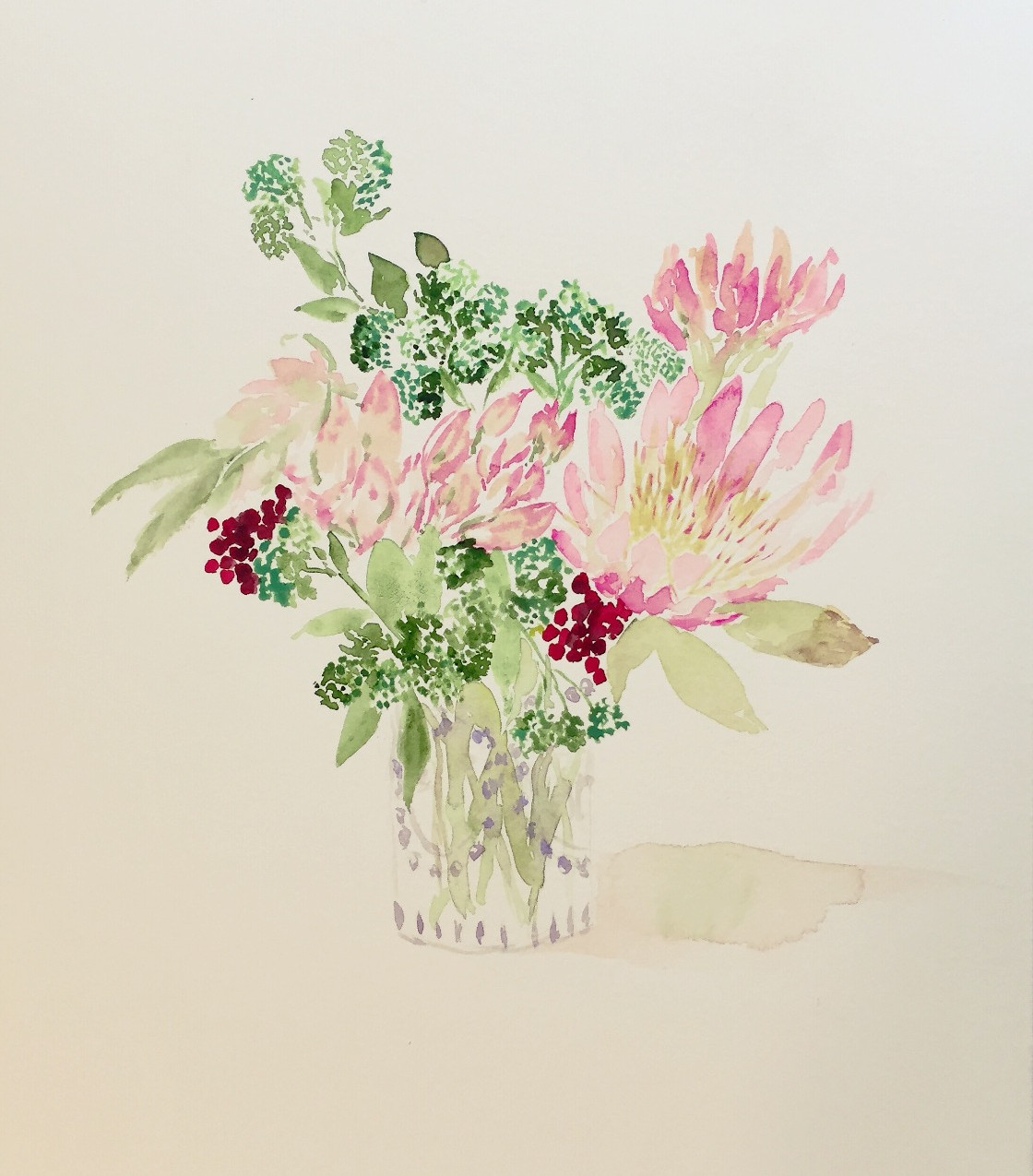Flowers, Protea and Sedum_edited