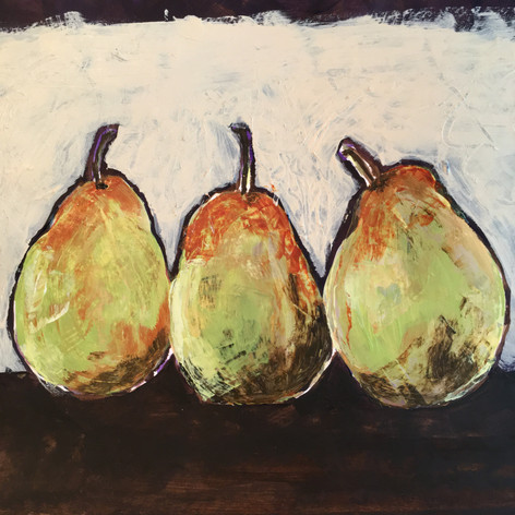Three Pears, 2020