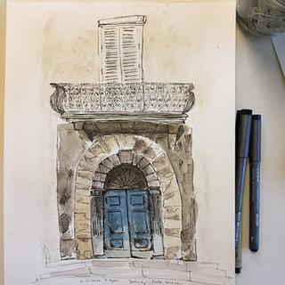 Doorway, Bastia, Corsica