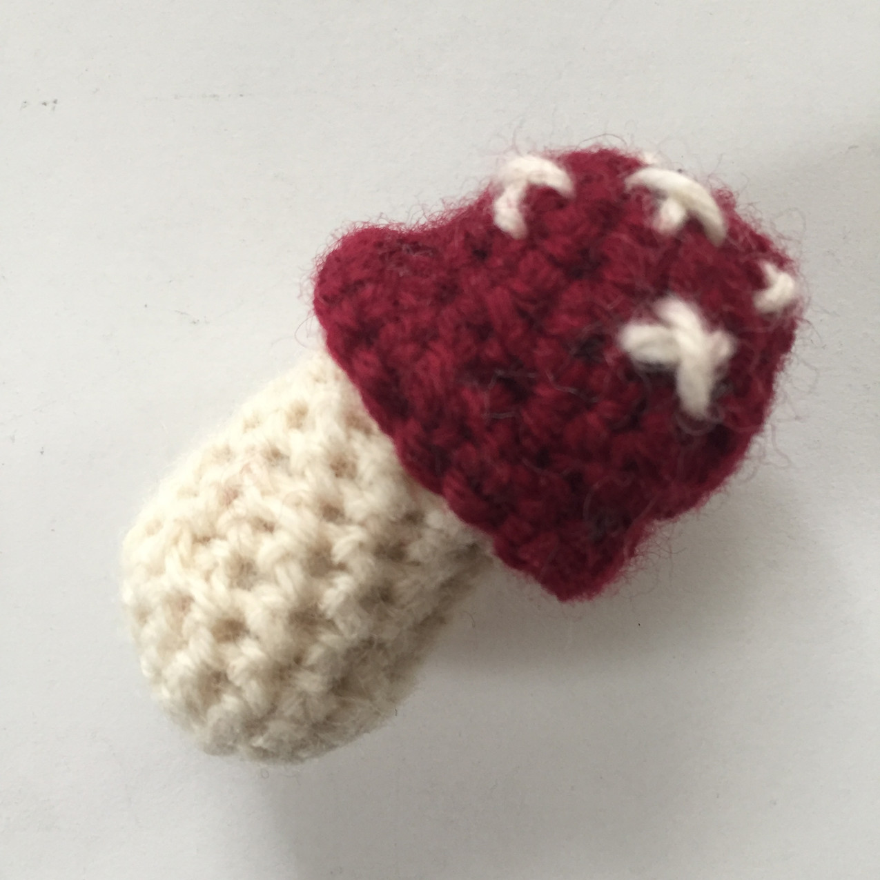 crochet mushroom