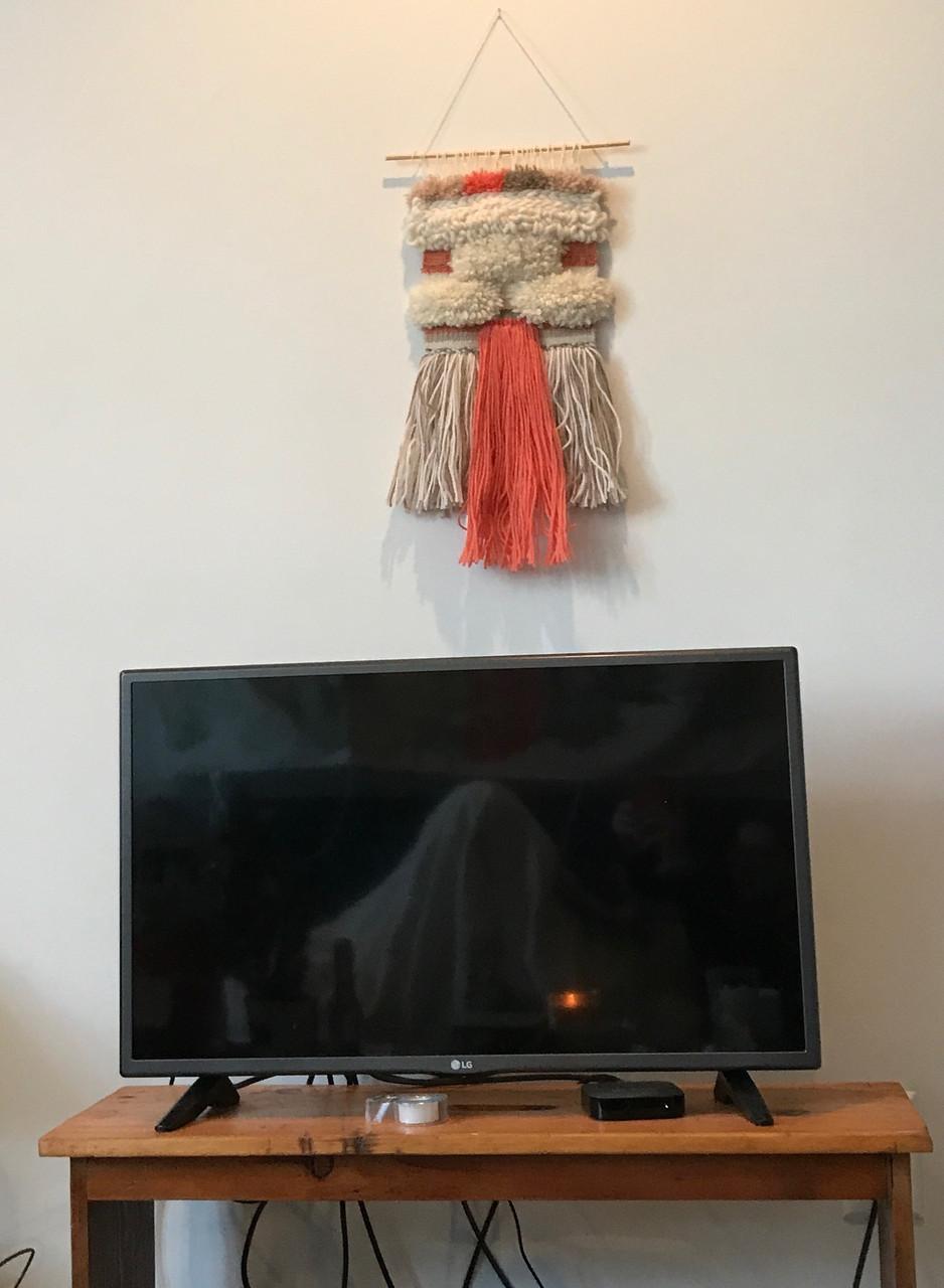 weaving on wall