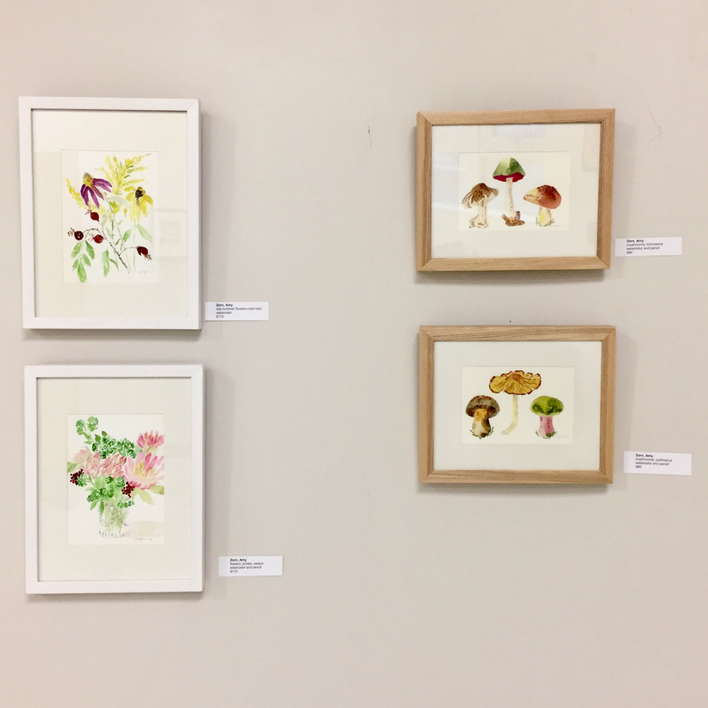 "West Orange Arts Council ""small works"" exhibition"