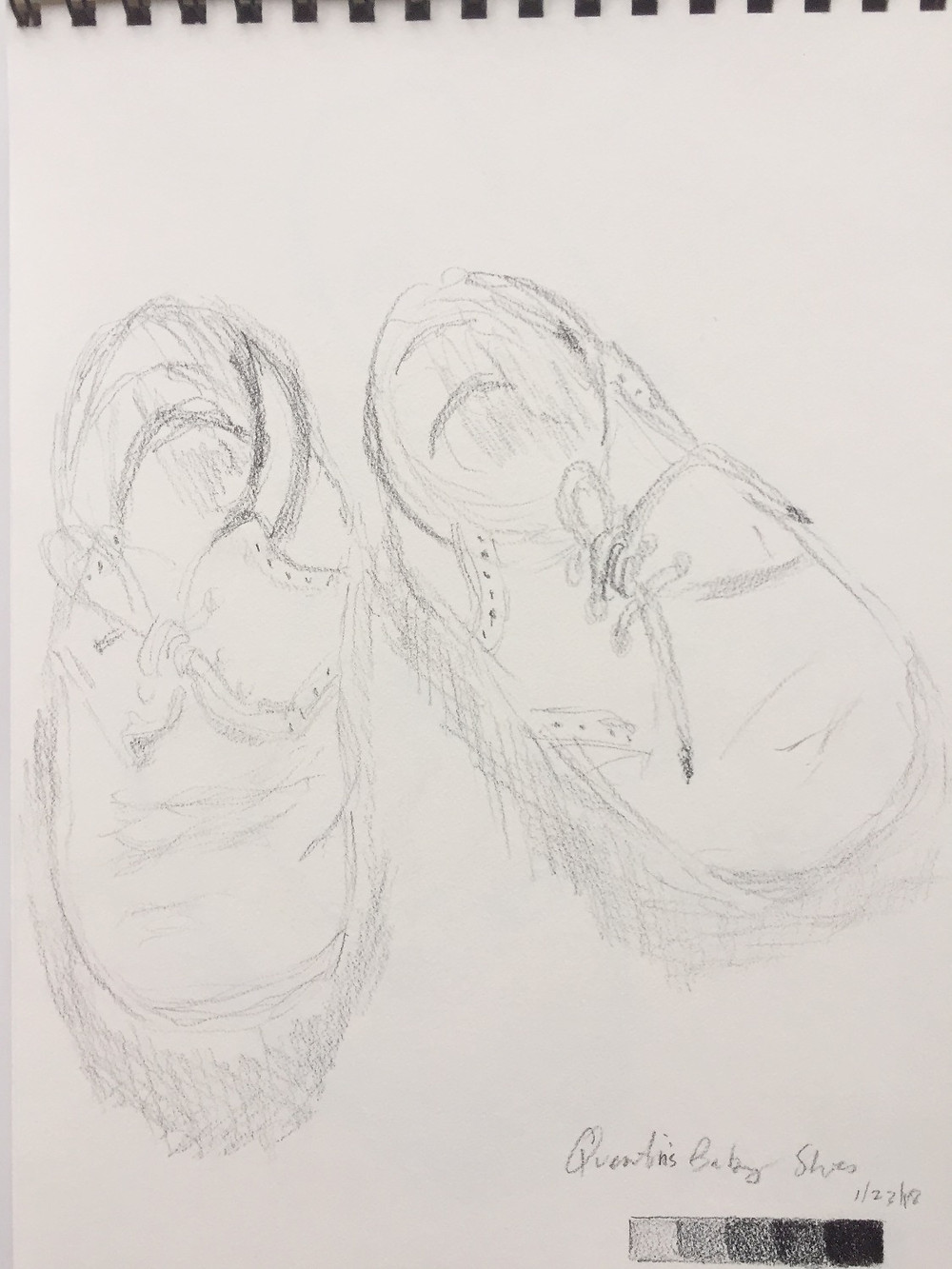 Baby shoes, Quentin