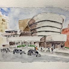 Guggenheim Museum (giclee print)