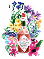 Tabasco and Flowers
