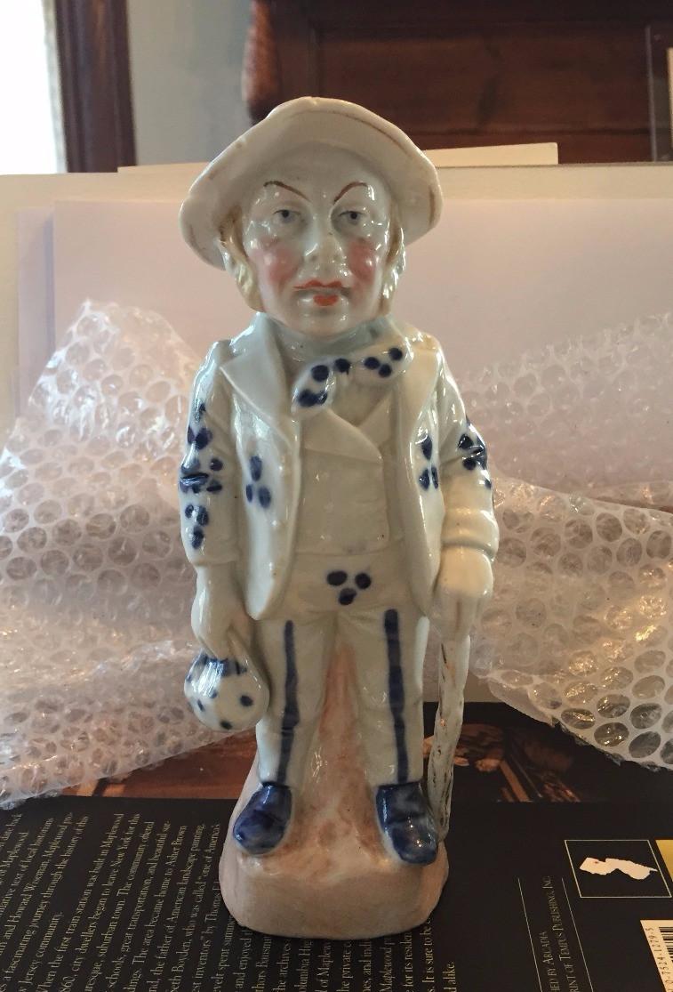 Mr. Shillington ceramic statue
