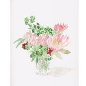 Flowers, Protea & Sedum