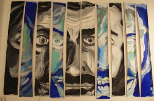 David Segarra (pintor) TU EGO 1 TU EGO 2