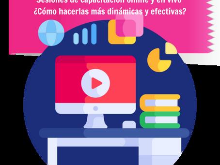 Capacitación online y en vivo: ¡Mini curso gratis!