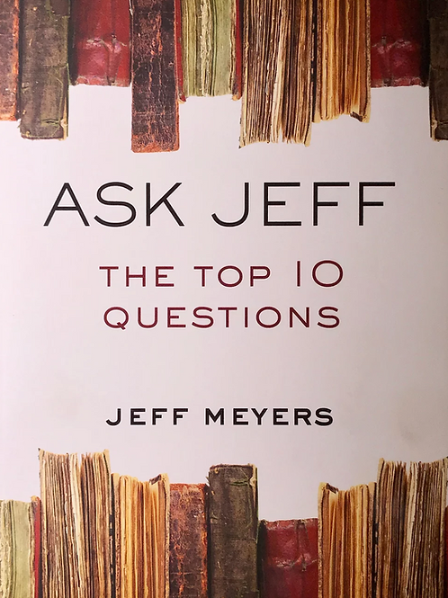 Ask Jeff: The Top 10 Questions