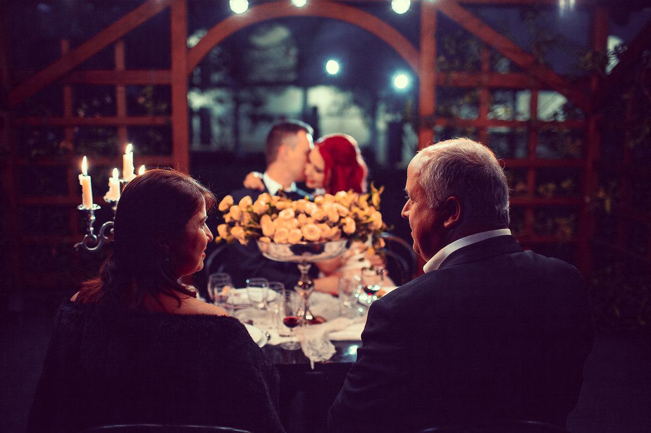 Свадебный ужин в Европе