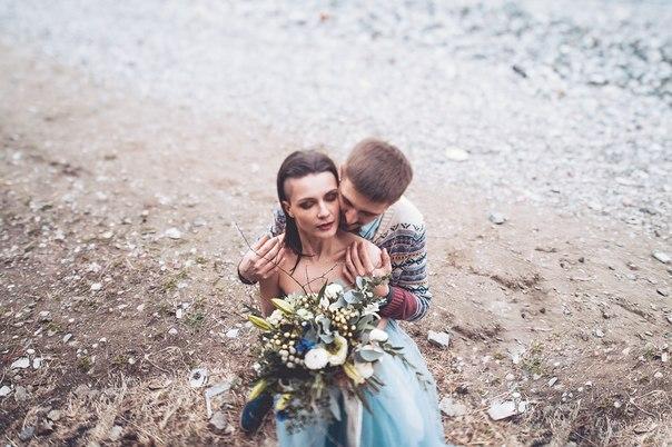 Образ жениха и невесты.