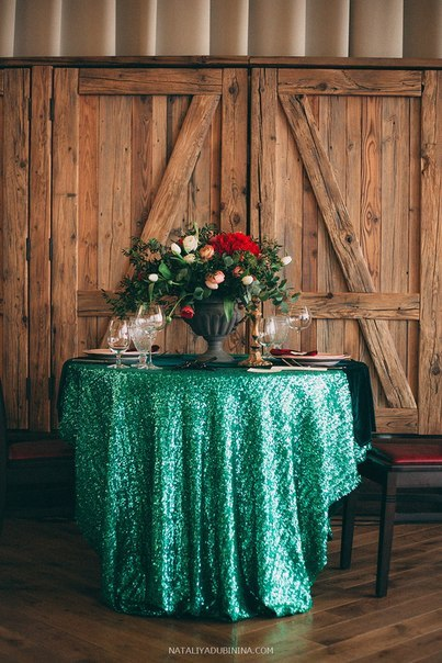Декор свадебного стола.