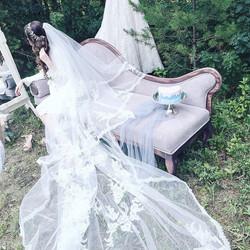 Декор сбора невесты