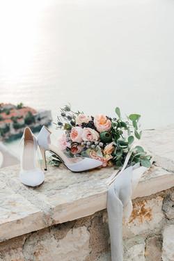 Свадебный букет в Европе