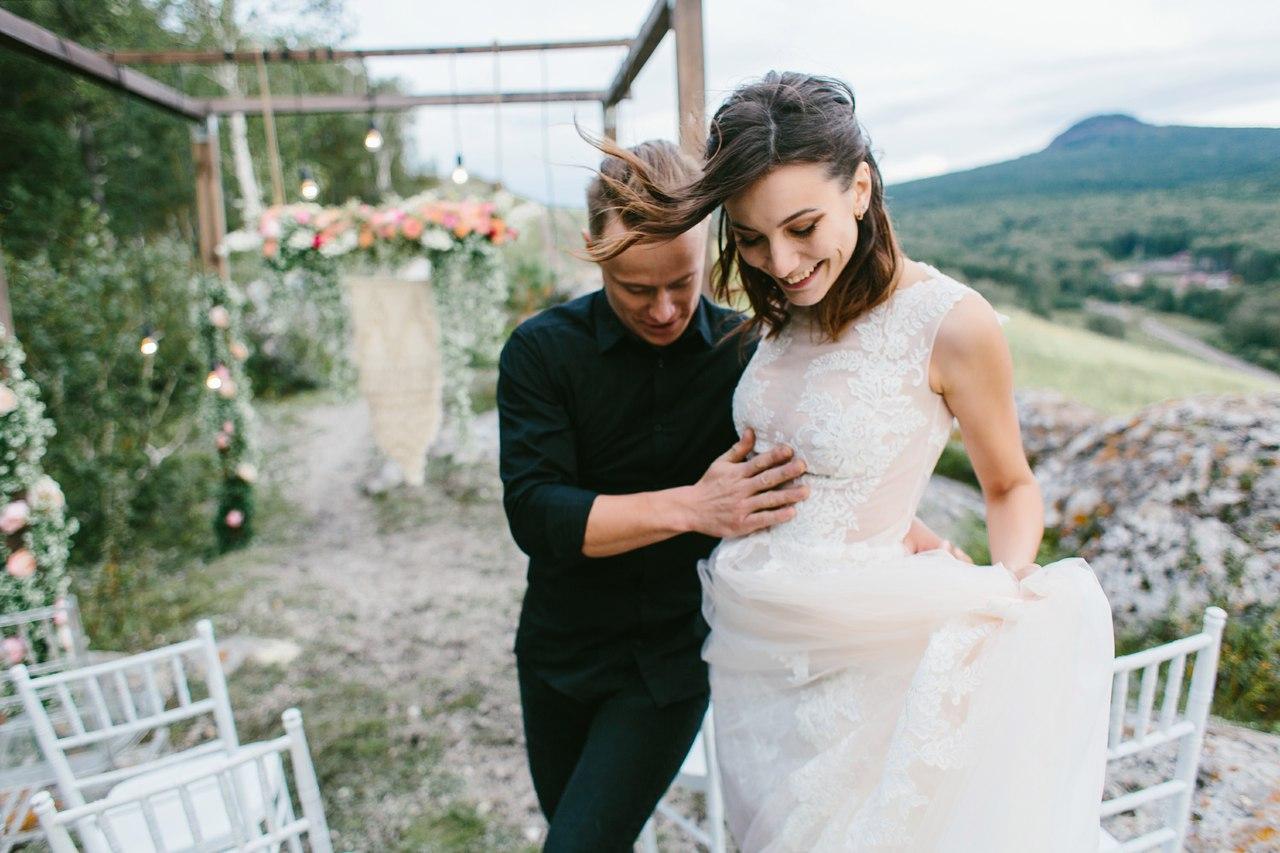 свадьба на горе