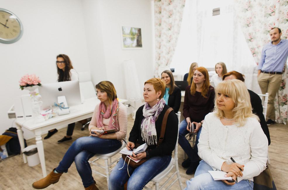 Участники МК Фати Текеевой в СПБ.