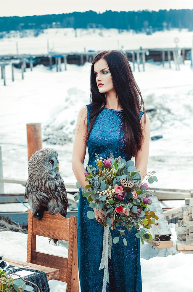 Невеста и сова.