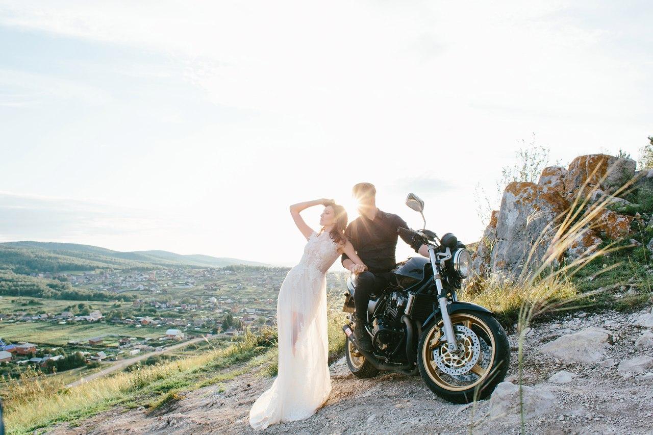 свадьба на байках