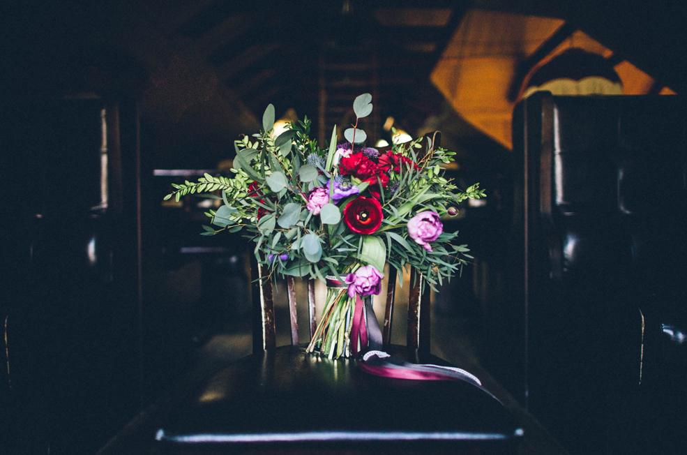 Букет невесты от Фати Текеевой.