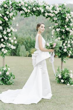 Наша невеста Яна.