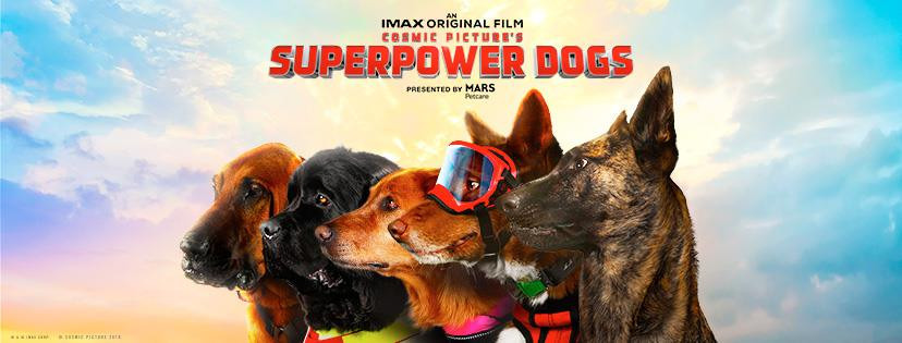 Superpower Dogs! (IMAX) poster