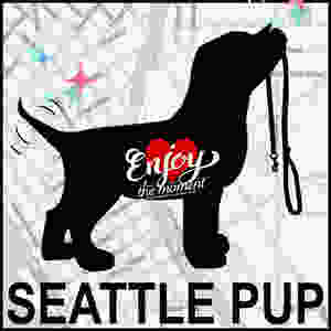 Seattle Pup New Years Logo