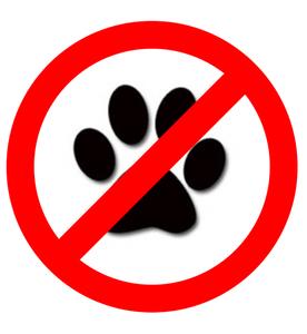 No Paws Symbol