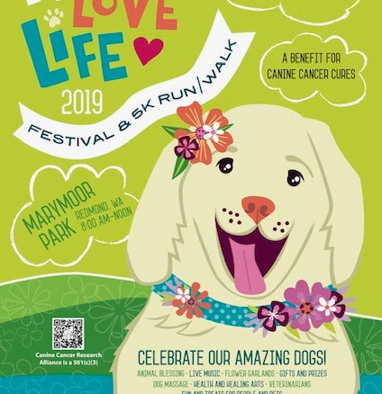 Wag! Love! Life! 5K 9.22.19 (Marymoore)