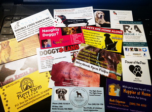 Collection of Dog-Friendly Business Cards