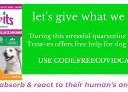 Free COVID CBD Treats from Treat Its!