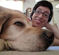 Golden Retriever and Megan bio photo