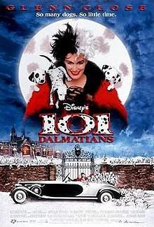 101 Dalmatians 1996 movie poster