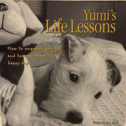 White terrier Cover of Yumi's Life Lessons