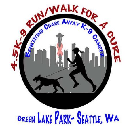 4,5K-9 Run walk poster