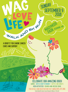 poster for Wag Love Life 5K