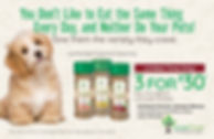 PawTree Dog Food Ad www.pawtree.org/fittercritters
