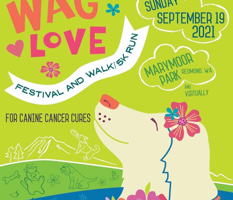 WAG LOVE 2021 Live & Virtual 5K