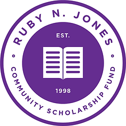 Ruby Jones Scholarship Logo PURPLE - WEB