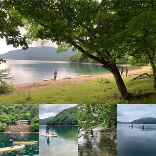 夏を前に中禅寺湖へ。