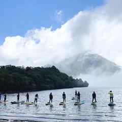 10月2日 中禅寺湖SUP+SUPヨガ 開催します!
