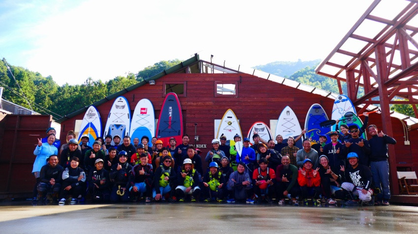 river SUP guide meeting 2018 NAGATORO