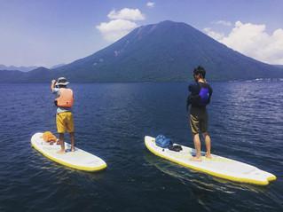 8/23 , 8/25 中禅寺湖SUP trip